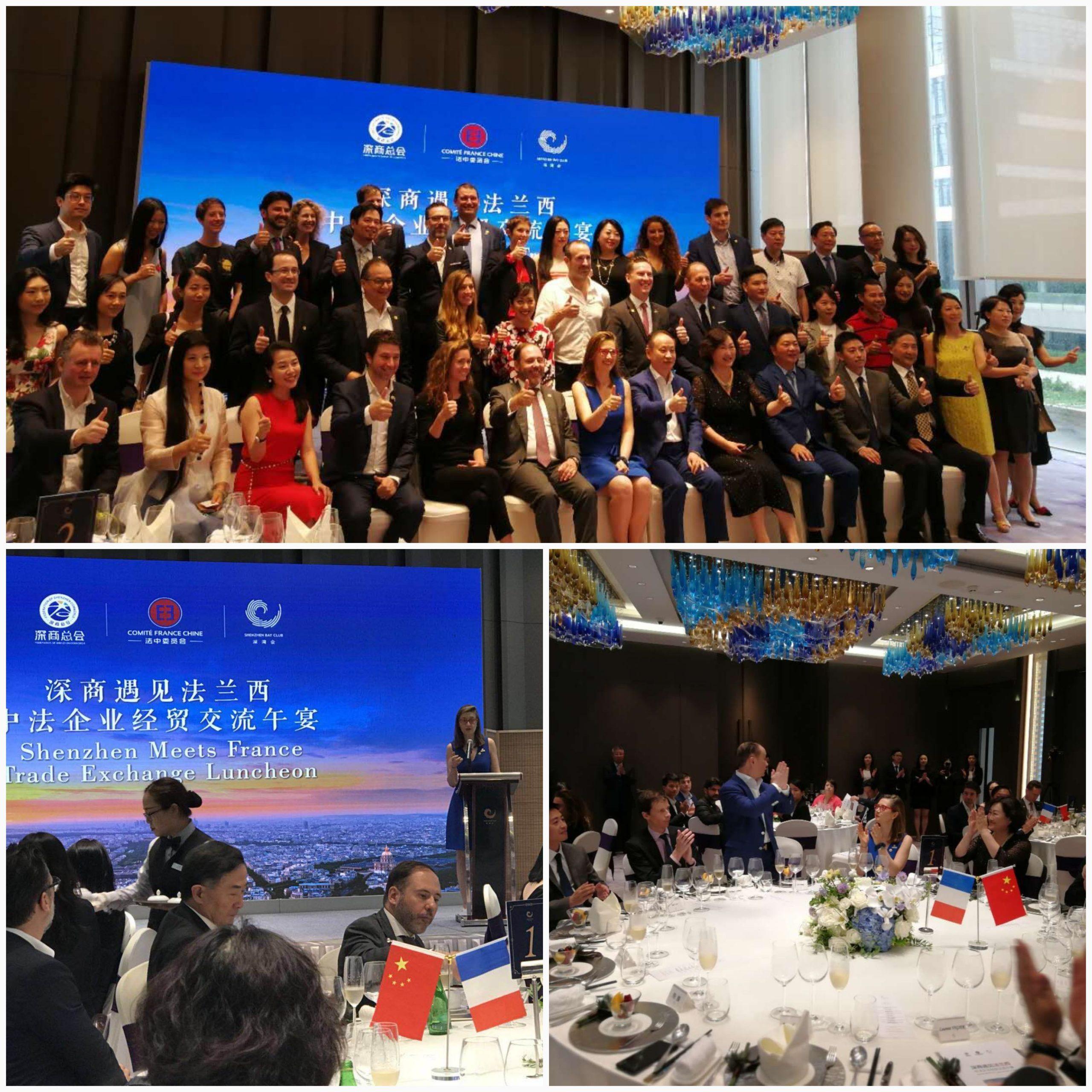 Déjeuner rencontre avec les entrepreneurs de Shenzhen - 22 juin 2018 - Shenzhen