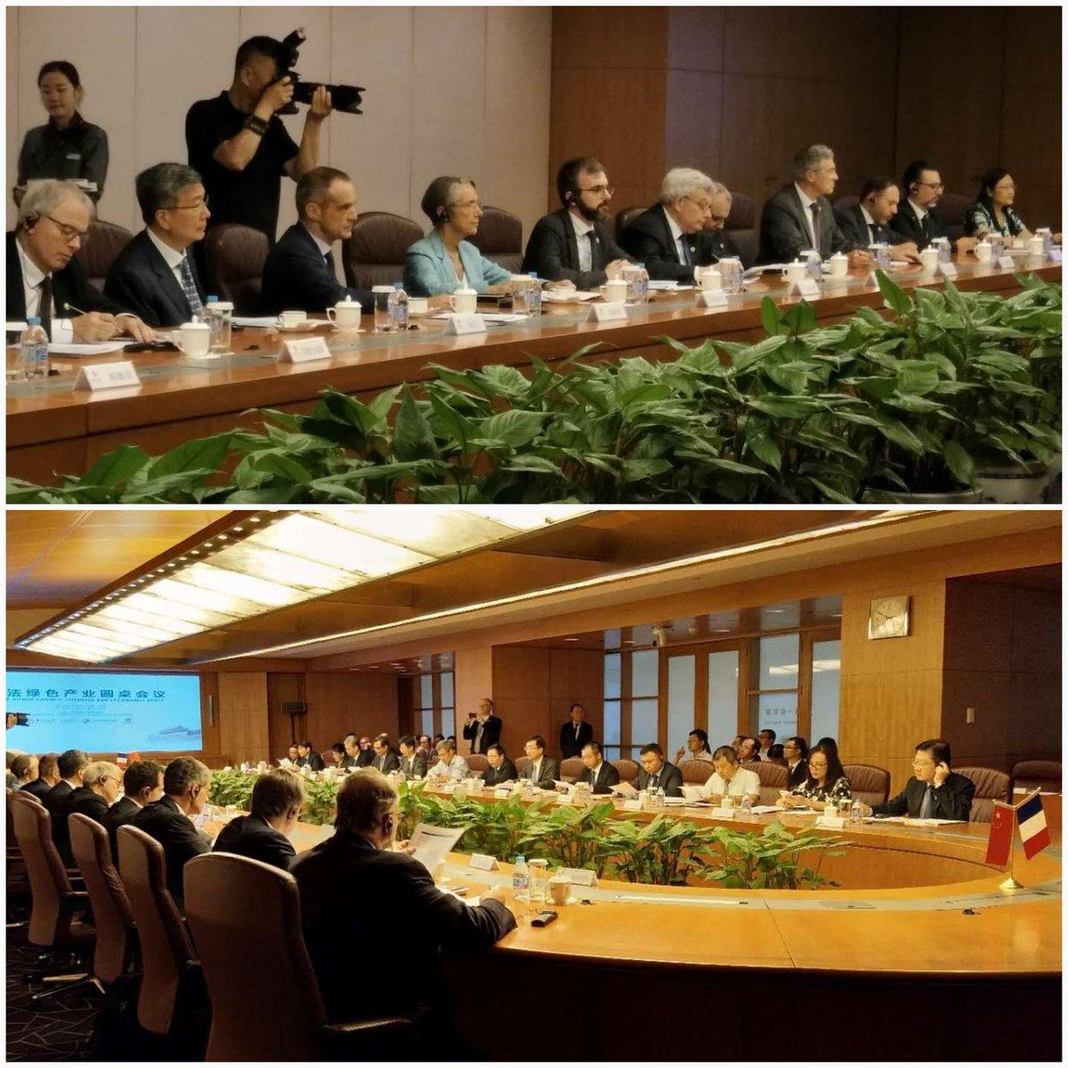 Table-ronde sur l'Economie verte - 25 juin 2018 - Pékin